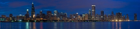 chicago-skyline-night