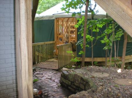 Yurt door 010