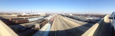Galesburg Rail Yard